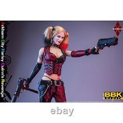 BBK BBK011 1/6 Joker Girl Arkham City Harley Quinn's Revenge Female Figure Toys