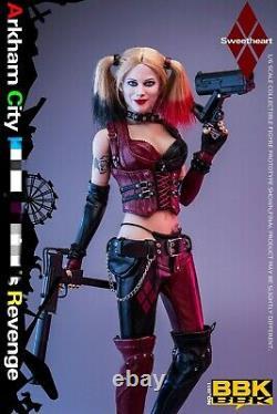 BBK BBK011 1/6 The Female Clown Arkham City Joker Girl Movable Action Figure