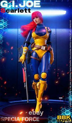 BBK BBK013 1/6 Red Hair Ver. GIJOE Female Soldier Action Figure 12inches Toy