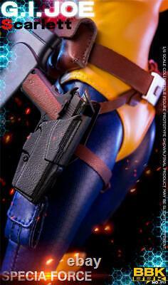 BBK BBK013 1/6 Red Hair Ver. GIJOE Female Soldier Figure 12inches Doll Toy Gift