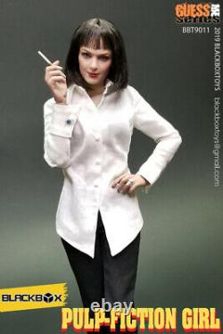 BLACKBOX 1/6 Pulp Fiction Uma Thurman Mia Wallace Female Figure Set BBT9011 Toy