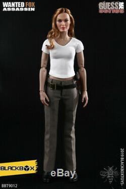 BLACKBOX BBT9012 1/6 Wanted Fox Assassin Female Killer Agent Action Figure