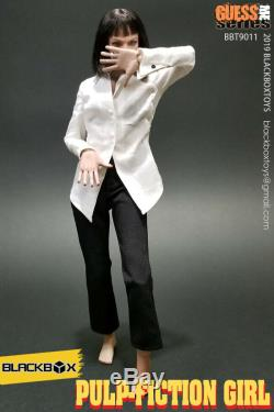 BLACKBOX Pulp Fiction Girl Mia Wallace 1/6 Female Figure Body Toys BBT9011 Acces