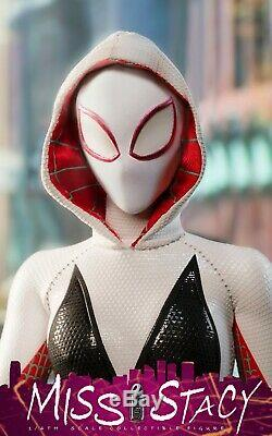 Bullet Head BH005 1/6 Miss Stacy Action Figure Set Spider-man Female Model Toy