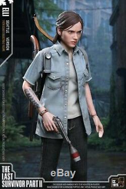 CCTOYS 1/6 ELLI Action Figure Set The Last of Us Part II 12'' Female Model Set