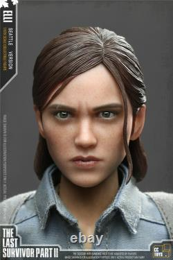 CCTOYS 1/6 ELLI The Last of Us 12 Female Figure Set Last Survivor Part II Toys