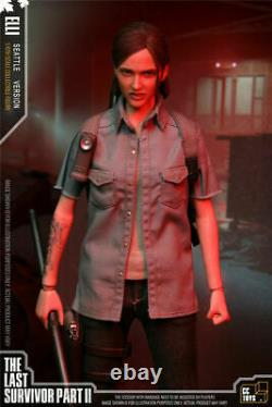 CCTOYS 16 ELLI The Last of Us Part II 12'' Female Action Figure Toy Set Gift