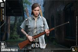CCTOYS 16 The Last of Us 2 Elli 12Female Figure CollectIble withTwo Heads