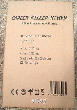 Career Killer Kiyoha Action Figure 1/6 Scale Female TBLeague PL2018-136 USA