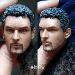 Customize 16 Head Sculpt Carved PVC Hair For 12 Male/Female Action Figure Body