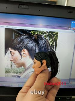 Customize 16 Head Sculpture Carved For 12 Female Male PH Action Figure Body