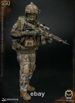 DAMTOYS 1/6 Special Operations Forces of Russia SSO Gunner Soldier Figure