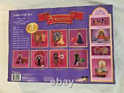 Disney Anastasia Deluxe Gift Set Poseable Figures Sealed NIB Galoob 1997 Rare
