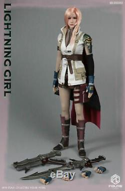 FIGURECOSER COS002 1/6 Thunder Female Warrior Head & Clothes Accessories Figure