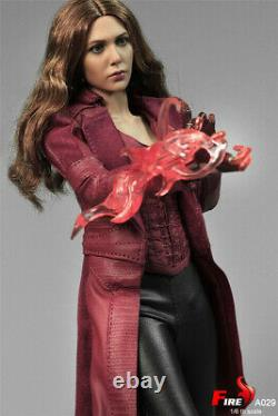 FIRE A029 1/6 Scarlet Witch 3.0 Clothes Set 12'' Female Action Figure Collection