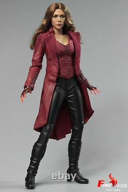 FIRE A029 1/6 Scarlet Witch 3.0 Female 12 Action Figure Collectible Doll Toys