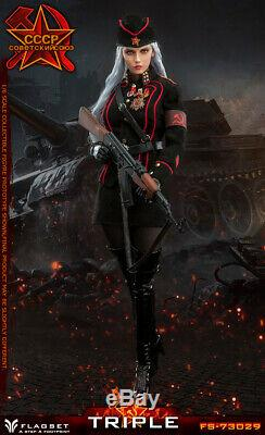 FLAGSET FS-73029 WWII Red Alert Soviet Army Female Officer Katyusha 1/6 FIGURE