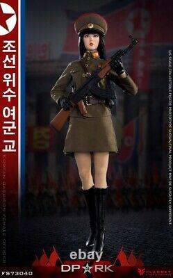 FLAGSET FS-73040 1/6 Korean Garrison Female Officer Action Figure Model