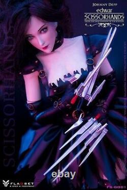 FLAGSET FS-G001 1/6 Edwar Girl Scissorhands Female 12inches Figure Model Toys