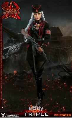 FLAGSET FS73029 1/6 Red Alert Soviet Female Officer Katyusha 12 Figure Toys