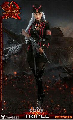 FLAGSET FS73029 1/6 Soviet Female Officer Red Alert Katyusha 12 Figure Presale