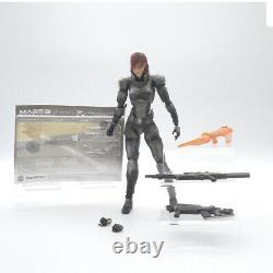 Female Commander Shepard, Mass Effect 3, Play Arts Kai, Action Figure, Pre-Owned