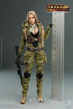 Female Sexy Soldier Girl Action Figure Palm Treasure Series Camouflage Gift Toys