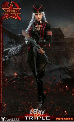 Flagset FS73029 1/6 WWII Soviet Female Soldier Katyusha Officer 12inches Figure
