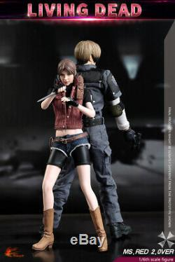 HOT HEART FD008 1/6 Resident Evil Claire Redfield Young Girl Action Figure
