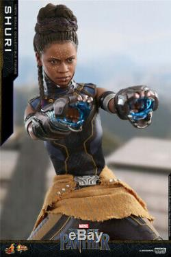 Hot Toys 1/6 MMS501 Black Panther Princess Shuri Female Action Figure Collection
