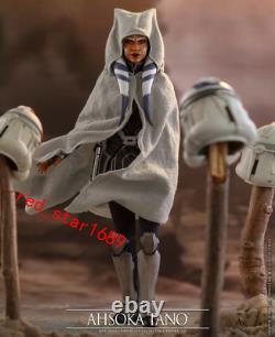 Hot Toys 1/6 Scale TMS021 The Clone Wars Ahsoka Tano Female Doll Figure Model