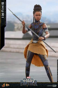 HotToys 1/6 MMS501 Black Panther Princess Shuri 12inches Action Figure