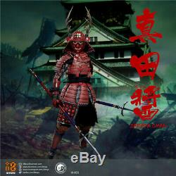 I8TOYS Sarada Chan Female Figure Set I8003 12'' Red Armor Version Doll Toy