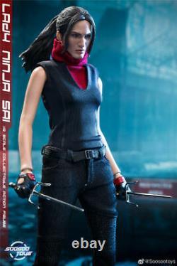 In Stock Soosootoys SST-014 1/6 Daredevil Natchios Elektra Female Figure Toy