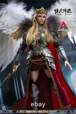 JIAOU Doll 1/6 Female Action Figure Angel Yan Super Seminary Crown Withwings Model