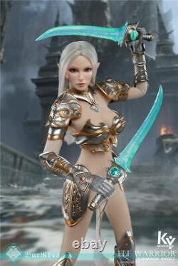 KYStudio 1/6 Female Action Figure KY002A Elf Warrior BurRhea WithPanther Deluxe