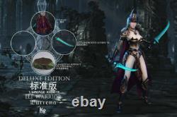 KYStudio KY001 1/6 Female Elf Warrior Burryna 12 Body Head Carving Armor Figure