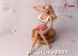 LDDOLL 1/6 Silicone Seamless Figure Female Soft Breasts Doll Body 28XL With KT004