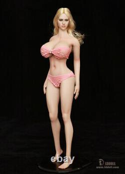 LDDOLL 16 Semi-White Skin 28xl Full Silicone Female Figure Body Fit OB Head Toy