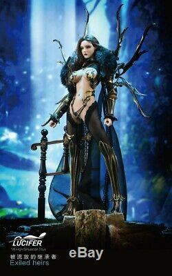 LUCIFER LXF2005 1/6 Exiled Heirs Female Action Figure Doll TBLeague body Weapon