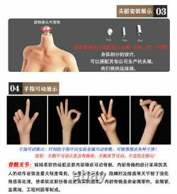 Lddoll 1/6 Flexible Seamless Body 27Cm Female Medium Chest Action Figure Model