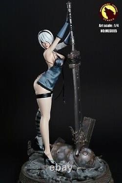 MOONLIGHT STUDIO 1/4 Scale MLS005 Cyborg Female Action Figure Statue Model