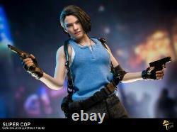 MTTOYS 1/6 Female Police 2pcs Head & Suit MT004 Resident Evil Figure Accessory