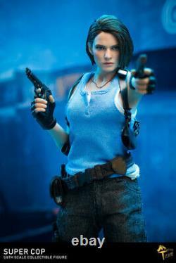 MTTOYS 1/6 Female Police 2pcs Head & Suit MT004 Resident Evil Figure Outfit Set
