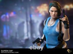 MTTOYS MT004 1/6 Female Police 2pcs Head & Suit Resident Evil Figure Accessory
