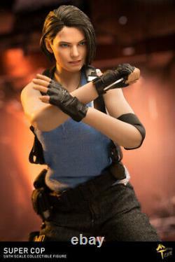 MTTOYS MT004 1/6 Female Police 2pcs Head & Suit Resident Evil Figure Outfit