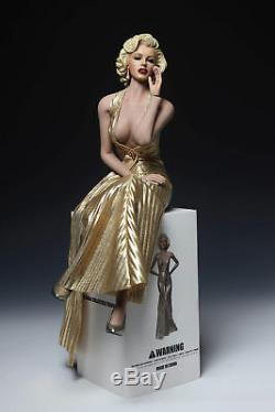 Marilyn Monroe Female 1/6 Head Sculpt & S09C Body & Clothes Action Figure Set