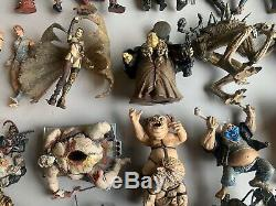 McFarlane Female Male Action Figure Lot of 34 Spawn Horror & 70 pieces