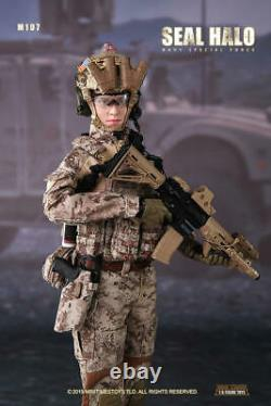 Mini Times Toys 1/6 M-017 Female Navy Seal HALO Soldier Action Figure Collection