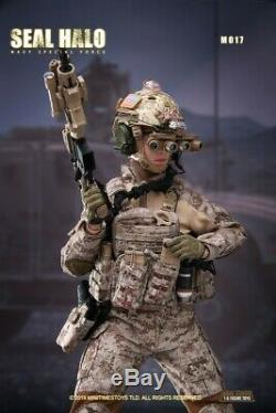 Mini times toys M017 1/6 US Army HALO Female Soldier Action Figure Model PRESALE